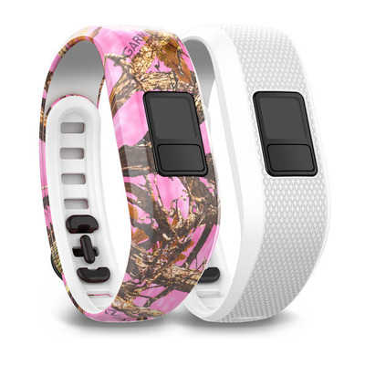 Garmin 137-195 mm, vívofit 3 - Roze, Wit