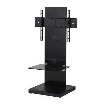 B-Tech 1m TV Stand with 1 Shelf TV standaard - Zwart