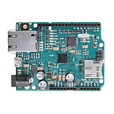 Arduino : All the fun of a Leonardo, plus an Ethernet port to extend your project to the IoT world. You can control .....