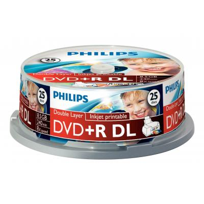 Philips DVD+R DR8I8B25F/00 DVD