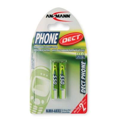 Ansmann 550mAh DECT - Groen
