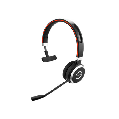 Jabra headset: Evolve 65 MS mono - Zwart