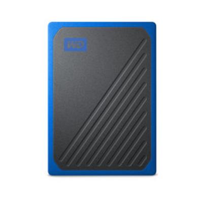 Western Digital My Passport Go - Zwart, Blauw