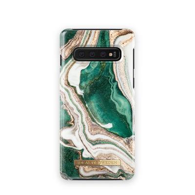 IDeal of Sweden voor Samsung Galaxy S10 Mobile phone case - Groen, Wit