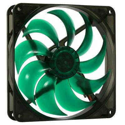 Nanoxia Hardware koeling: Deep Silence 120 - Zwart, Groen