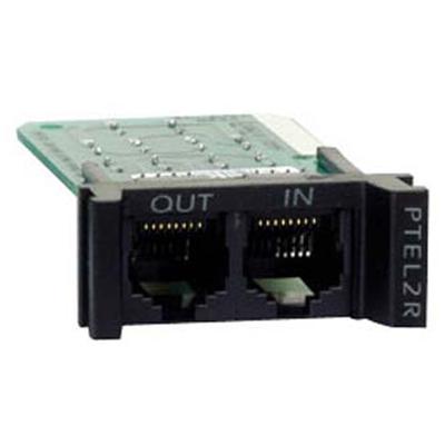 APC Surge Module for Analog Phone Line Surge protector - Zwart