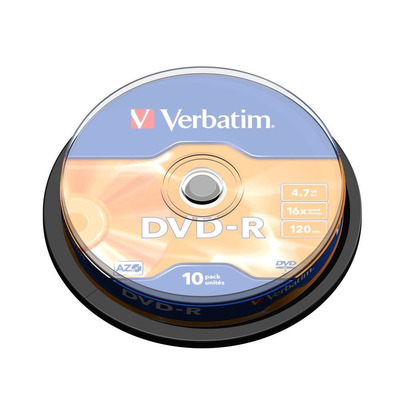 Verbatim DVD: DVD-R Matt Silver