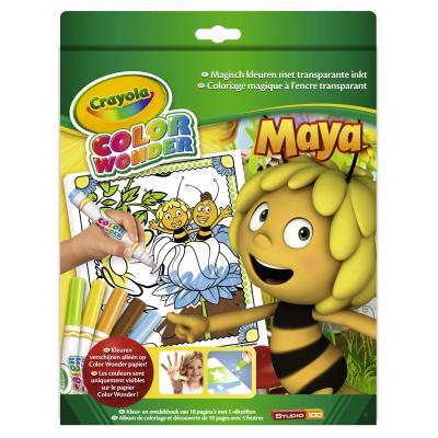 Crayola kleurplaat en boek: Color Wonder - Box set Maya de Bij