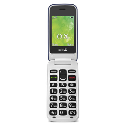 Doro 2414 Mobiele telefoon - Blauw, Wit