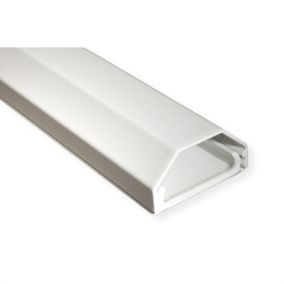 ROLINE Kabelgoot, Aluminium, 33X26Mm, Wit, 1,1 M, 1.1M Kabel beschermer