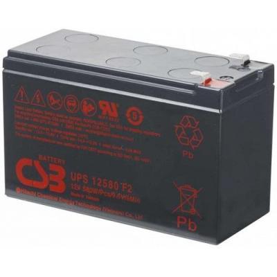 PowerWalker UPS12580 UPS batterij - Zwart