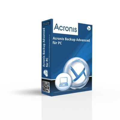 Acronis software licentie: Backup Advanced for PC