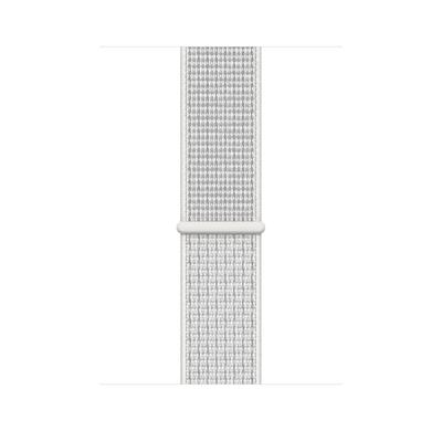 Apple Geweven sportbandje van Nike - Summit White (44 mm) - Wit