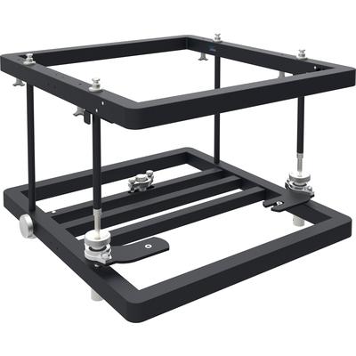 SmartMetals Stapelframe, 820mm, 14kg, aluminium, zwart