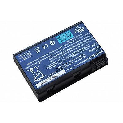 Acer batterij: Battery 6-cell Li-Ion 4400mAh - Zwart