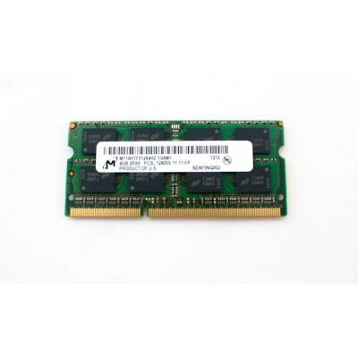 Hp RAM-geheugen: 4GB, 1600MHz, PC3L-12800 DDR3L DIMM memory module Refurbished (Refurbished ZG)