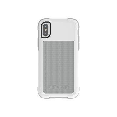 Griffin Survivor Fit Mobile phone case - Grijs, Wit