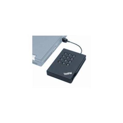 Lenovo externe harde schijf: ThinkPad USB Secure Hard Drive - 320GB - Zwart, Grijs