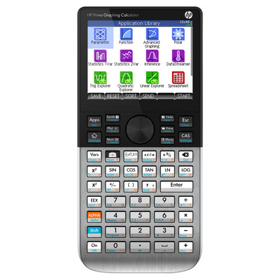 HP Prime Graphing Calculator - Zilver