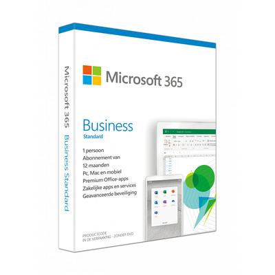 Microsoft 365 Business Standard Win/Mac (Dutch) (1 Year) Besturingssystemen