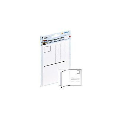 Herma etiket: Post card labels 95x145mm white 10 pcs.
