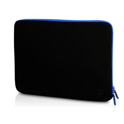 V7 CSE1-BLU-9E Laptoptas - Zwart, Blauw