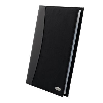 Rexel : Soft Touch Displayboek Combo A4 24-tas Zwart
