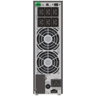 PowerWalker VFI 2000 TGS UPS - Zwart