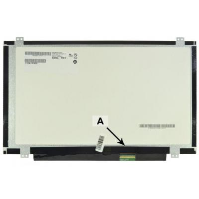 "2-power notebook reserve-onderdeel: 35.56 cm (14 "") , HD, 1366x768, LCD, 392g - Multi kleuren"