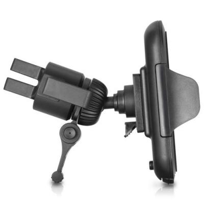 Macally : Fully adjustable car vent mount for iPhone, iPod, smartphone and GPS - Zwart