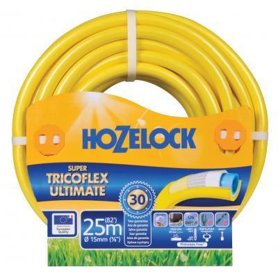 Hozelock tuinslang: Super Tricoflex Ultimate slang Ø 15 mm 25 meter - Geel