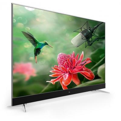 TCL 55''' 4K UHD (3840x2160) LED, 410cd/m2, Quad-Core, Smart TV, Android TV 6.0, HDR Pro, PPI 1600, 2x 12W RMS, DTS/Dolby Digital Plus, DVB-T2/C/S2, OSD, EPG, Wi-Fi 802.11ac, Bluetouth, MHL, HDMI, USB, Ethernet, CI+, A+ Class 126kWh/ann, 85W, 220-240V 50Hz, V