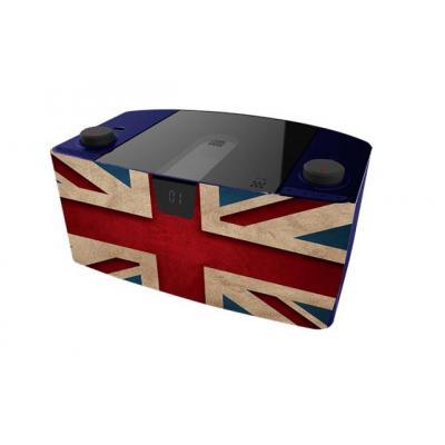 Bigben interactive CD-radio: CD57 USB - Blauw, Grijs, Rood