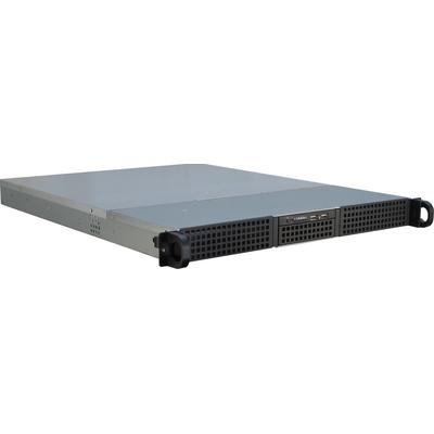 Inter-Tech IPC 1U-10255 Behuizing - Zwart