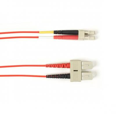 Black Box FOCMR10-002M-SCLC-RD fiber optic kabel