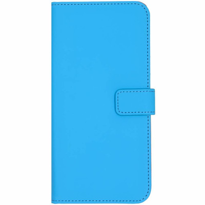 Luxe Softcase Booktype Samsung Galaxy J6 Plus - Blauw / Blue Mobile phone case