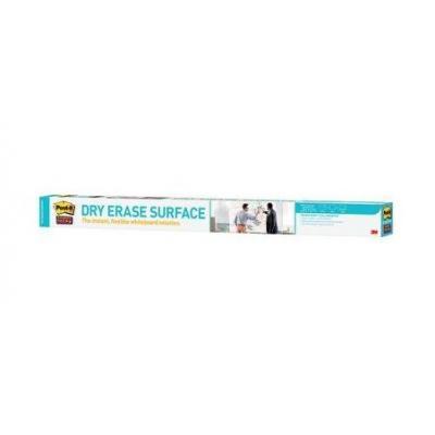 3M Post-it Super Sticky Dry Erase Film, 0.914 m x 1.219 m plakplastic - Wit
