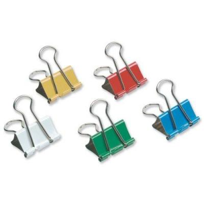 5star paperclip: Double clip in models from 32 mm Assorted, Pack of 12 Pieces - Multi kleuren