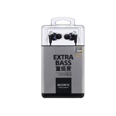 Sony koptelefoon: MDR-XB90EX/BC (Set) - Zwart, Zilver
