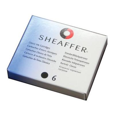 Sheaffer inktvulling: DS 6X INKTPATROON ZWART