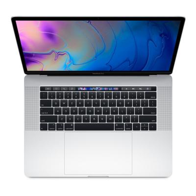 Apple laptop: MacBook Pro 15 (2018) - i7 - 256GB - Silver - Zilver
