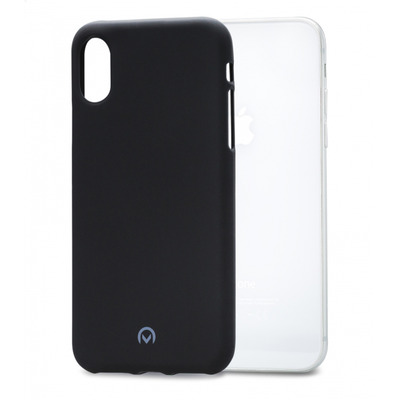Mobilize Rubber Gelly Case Apple iPhone Xs Max Matt Black mobile phone case