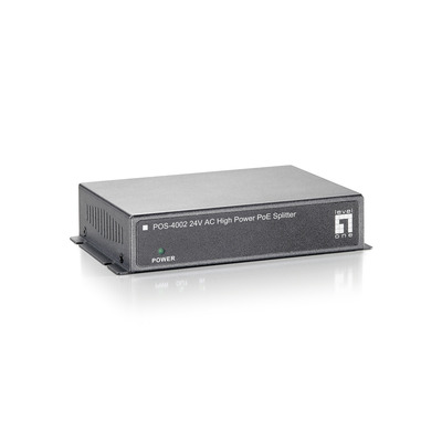 LevelOne POS-4002 Netwerk splitter - Zwart