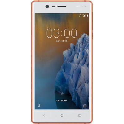 Nokia smartphone: 3 - Koper, Wit 16GB