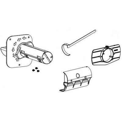 Datamax o'neil printing equipment spare part: Internal Rewind Option for Datamax-Oneil M-4206 Mark II, M-4210 Mark II, .....