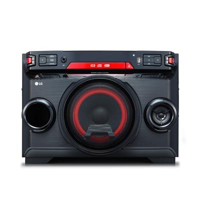 LG OK45 Home stereo set - Zwart, Rood