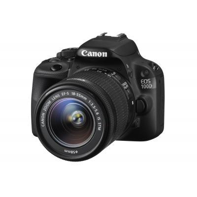 Canon digitale camera: EOS 100D 18-55(zoomobjectief)IS STM - Zwart