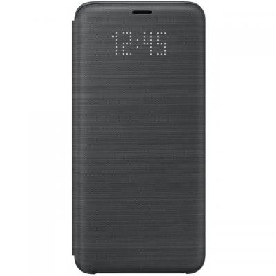 Samsung LED View Cover Galaxy S9 mobile phone case - Zwart