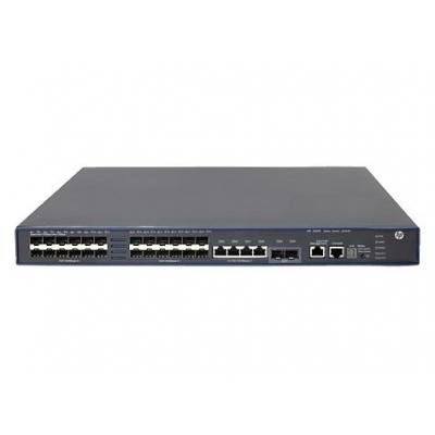 HP 5500-24G-SFP HI Switch w/2 Interface Slots switch - Grijs
