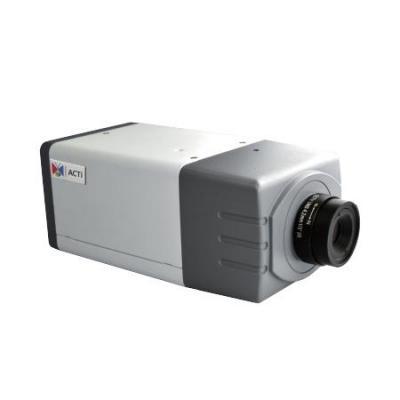 """ACTi 1/2.8"""" CMOS, 1920x1080px, 2.38 MP, PoE, 7W, 142x65x67mm, 425g, Black/Grey/White Beveiligingscamera - Zwart, ....."""